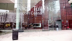 Alice Tully Hall Lincoln Center New York City Stock Footage