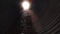 Water of Life Flowing Towards the Light Stock Footage