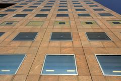 Facade of a commercial building Stock Photos