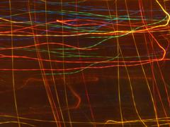 Colorful light streaks Stock Photos