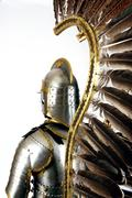 Armour of the medieval knight. Stock Photos