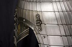 Armour of the medieval knight Stock Photos