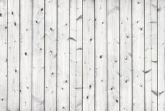 Old White floor wood background Stock Photos