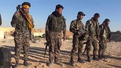 Syria - November 2016: Rakku - offensive Stock Footage