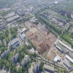 The industrial region of city Perm. Stock Footage