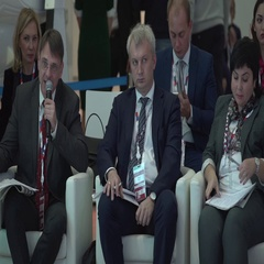 SOCHI, RUSSIA - Business briefing at the International Stock Footage