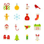 Christmas Holiday Objects Stock Illustration