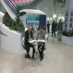 SOCHI, RUSSIA - SEPTEMBER 30, 2016 :The Businessmen sign the agreement at the Stock Footage