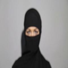 Eyes of arab woman Stock Footage