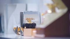 Women's Fragrances Stock Footage