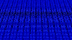 A data grid of streaming numbers - Data Storm 0641 HD, 4K Stock Video Stock Footage