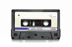 Common audio cassette Stock Photos
