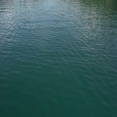 Crystal clear fresh water, water background, tranquil water Stock Footage