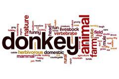 Donkey word cloud Piirros