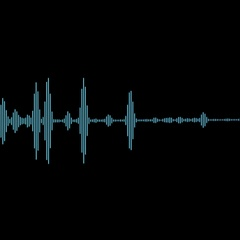 Equalizer Audio Spectrum Blue Dinamic Waves Background Stock Footage