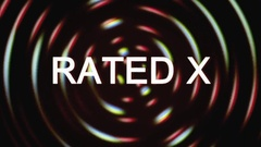 Grindhouse rated x Stock Footage