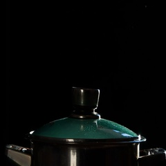 Pot of Boiling Water HD Pro Stock Footage