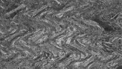 Background wavy movement silver color Stock Footage