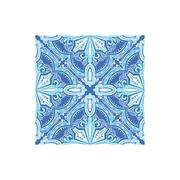 Geometric Pattern Azulejo Tile Portuguese Famous Symbol Stock Illustration