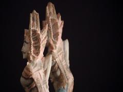 Rotating Balinese Hindu wood carved gods Stock Footage