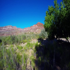 Colorful mountains of southern Utah Stock Footage