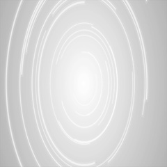 Abstract grey tech circles video animation Stock Footage