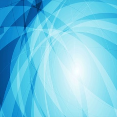 Abstract blue wavy tech video animation Stock Footage