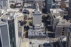 Oakland City Hall Aerial Kuvituskuvat