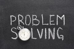 Problem solving phrase Stock Photos