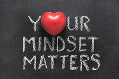 Your mindset matters Stock Photos