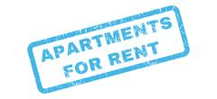 Apartments For Rent Rubber Stamp Stock Illustration