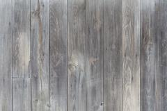 Unpainted gray wooden boards Stock Photos