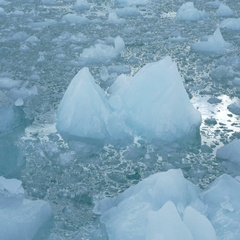 Sailing in sea of Ice Stock Footage