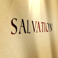 Parchment Text Salvation Typography Stock Footage