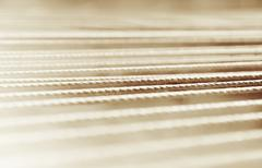 Horizontal sepia rope detail bokeh background Stock Photos