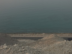 Rocky Hills by the Red Sea Stock Footage