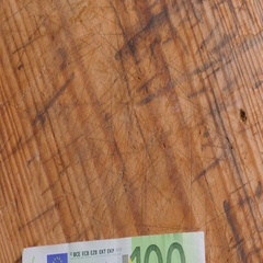 Euro banknotes in hands of young man Stock Footage