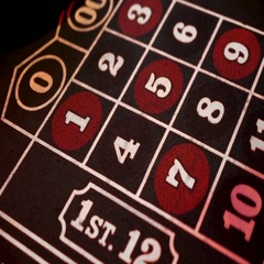 The roulette table in a casino. Stock Footage