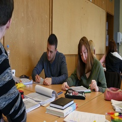 Students in the classroom during a writing task. Stock Footage