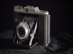 Rotating platform adox pronto camera Stock Footage