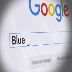 Google Search Engine - Search For Blue Zone diet Stock Footage