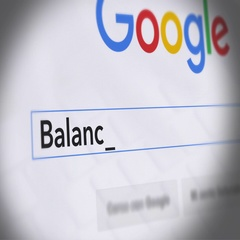 Google Search Engine - Search For Balanced Budget Stock Footage