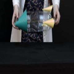 Ignition of alcohol vapors closeup Stock Footage