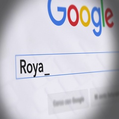 Google Search Engine - Search For Royal Baby Stock Footage