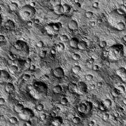 Seamless Texture surface of the moon high-resolution Stock Illustration