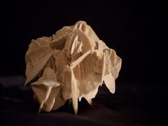 Rotating chrystal desert rose, 4K Stock Footage