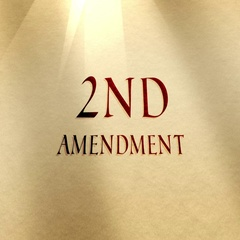 Parchment Text 2nd Amendment Typography Stock Footage