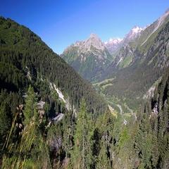Mountain road - Malojapass, Switzerland. Stock Footage