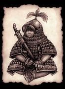 Little commander Stock Illustration