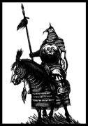 Horseman Stock Illustration